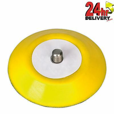 Sealey Hook & Loop Backing Pad 71mm M6 x 1mm For Air & Electrical Tools