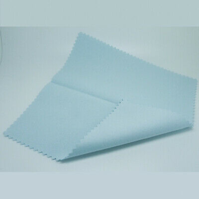 10*7CM Silver Polishing Cloth Cleaner Jewellery Cleaning Cloth Anti-Tarnish Tool