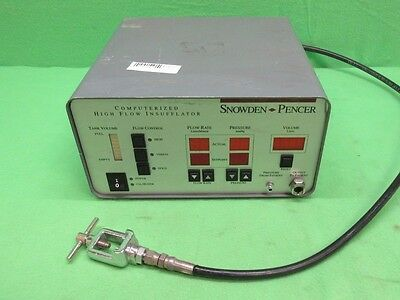 Snowden Pencer 89-8600 Computerized High Flow Insufflator