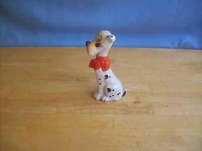 Vintage Silly Dalmatian Dog Figurine Made In Japan