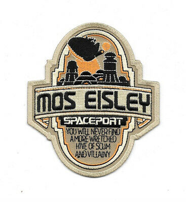 Star Wars Celebration VI Mos Eisley Spaceport Logo Embroidered Patch NEW UNUSED