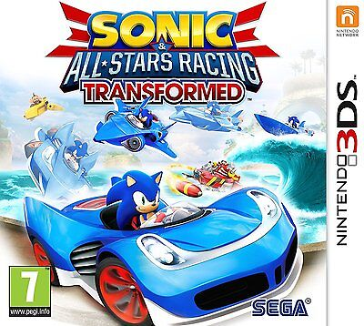 Sonic and All Stars Racing:Transformed Game for Nintendo 3DS UK PAL New & Sealed
