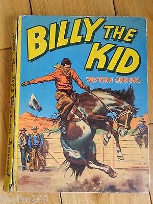 Billy The Kid western ANUARIO 1954 World Distribuidores Manchester LTD TAPA DURA