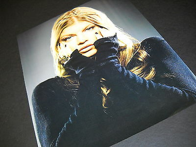 FERGIE with hands to face DYNAMIC 2006 Photo Image PROMO DISPLAY AD mint