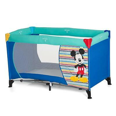 Hauck Disney Baby Dream'n Play Travel Cot (Mickey Geo Blue)