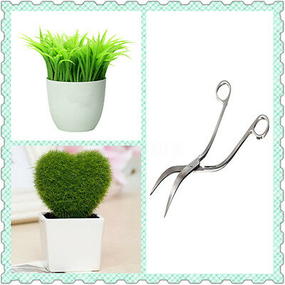 24cm 9.5'' Professional Stainless Steel Aquarium Plant Curve Wave Scissors Shear