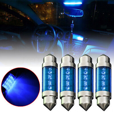 1pcs 39mm  LED Light Blue Car Festoon Interior Dome C5W Light Lamp Bulb DC 12V