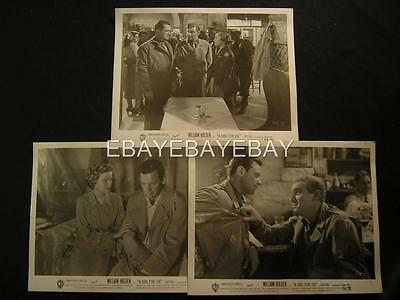 William Holden A Girl For Joe 6 WW2 Movie PHOTO LOT 305H