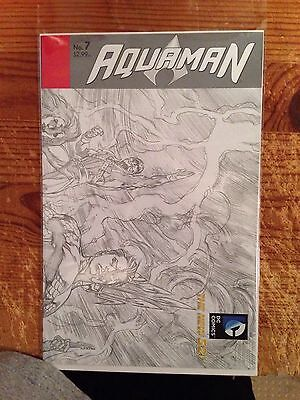 Aquaman 7 1:25 Incentive Sketch Cover