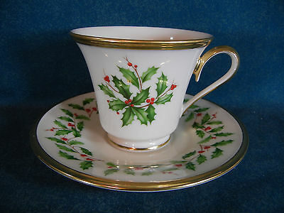 Lenox Holiday Cup and Saucer Set(s)