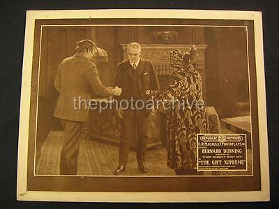 20s Bernard Durning The Gift Supreme 1920 VINTAGE LOBBY CARD OS98
