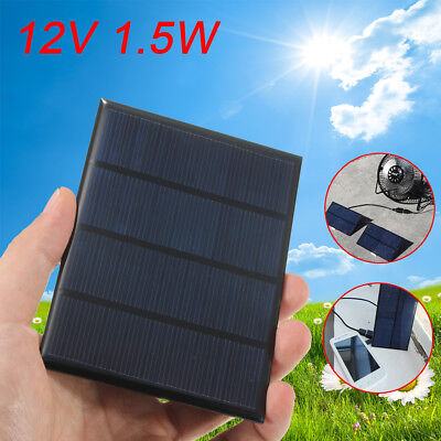 115x85mm 12V 1.5W Mini Solar Panel Module DIY for Cell Phone Charger DIY Toy