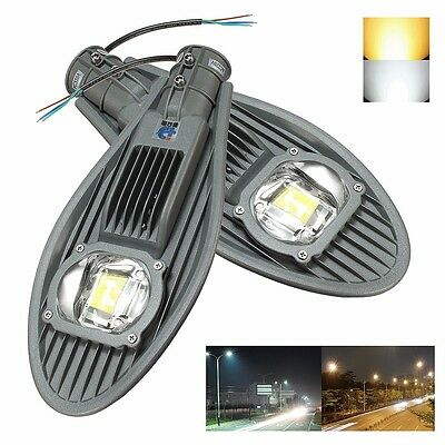 30W LED Street Road Outdoor Yard Industrial Lamp Light Floodlight AC86-265V IP65