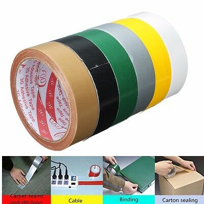 New Duck Duct Gaffa Gaffer Waterproof Self Adhesive Repair Cloth Tape 6 Colours