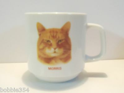 Morris the Cat Mug Decorated by Papel Vintage