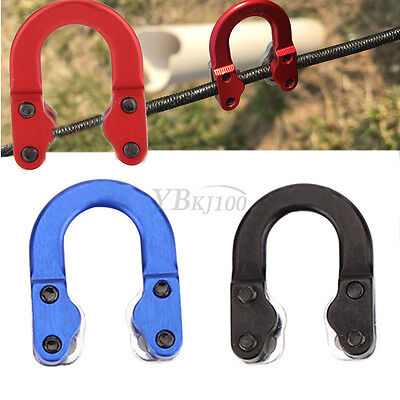 3 Colors Archery Shooting Ulimate Hunting Loop Metal D Ring for Compound Bow