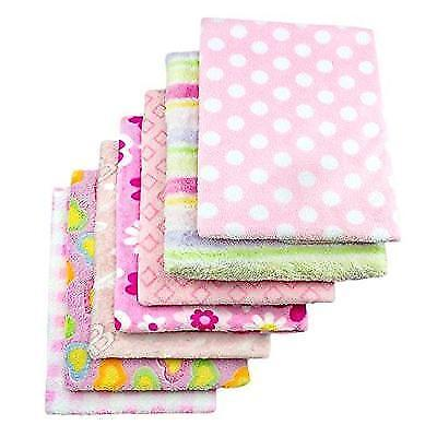 "Cozy Fleece Baby Blankets for Girl, Assorted ""1 Blanket"" New"