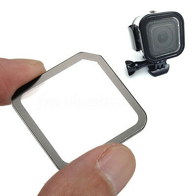 Clear Tempered Glass Lens + Screen Protector Film  Kit For Gopro Hero 4 Session