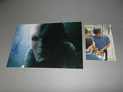 Andy Serkis Star Wars signed signiert Autogramm auf 20x30 Foto in person
