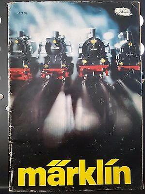 Marklin Vintage 1977 Magazine Catalogue Model Train Locomotive Carriage German