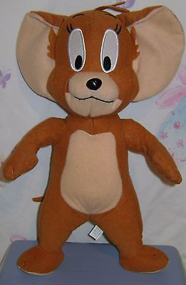 "TOM AND JERRY 13"" Stuffed Plush Brown JERRY MOUSE Toy Factory"