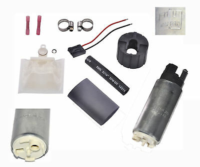 Walbro GSS341 255LPH High PSI & Flow Fuel Pump & Universal Installation Kit