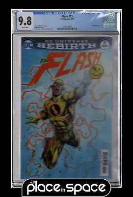 Cgc 9.8 - Flash, Vol. 5 #21A - 3D Lenticular Edition - The Button Part 2