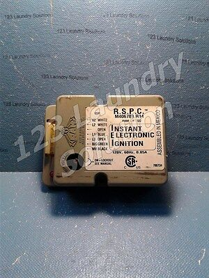 Dryer Ignition Control Box 6 Pins Lip Out M406789P R14 120V 60Hz 0.05A Used