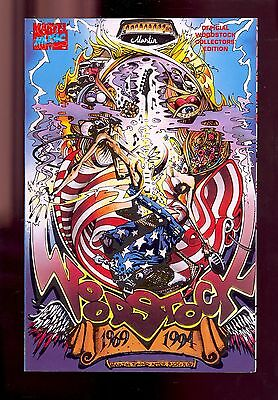 Woodstock Comic Book 1969 1994 Martin Emond Nm  Comic Kings