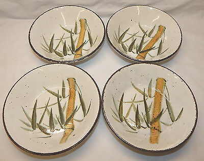 Set of 8 Midwinter RANGOON Coupe Cereal / Fruit Bowls, Produced 1979 - 1986