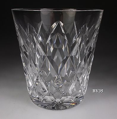 """WATERFORD CRYSTAL KINSALE OLD FASHIONED GLASS  3 5/8"""" - PERFECT - 9 oz  GLASSES"""