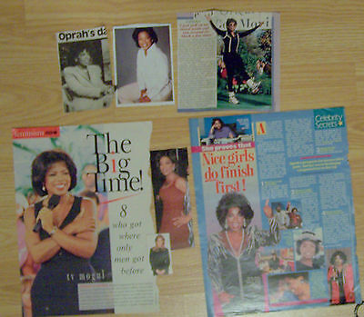 Oprah Winfrey Magazine Clippings
