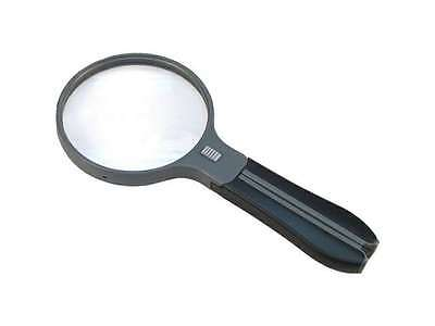 "Carson Hf-11 4.3"" Split-Handle Lighted Magnifier, 2X With 3.5X Spot Lens And Nec"