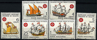 Souvereign Military Order Of Malta 1968 Ships MNH Set #D49462