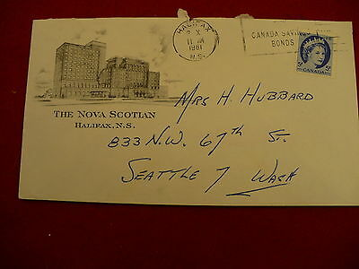 The Nova Scotian hotel stationary envelope CN hotel chain Canadian National P279