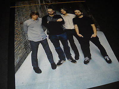 DEATH CAB FOR CUTIE dynamic 2009 Photo Image PROMO DISPLAY AD no print MINT COND