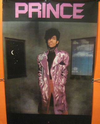 """Extremely Rare - Prince Original 1982 Promo Poster For """"1999"""" Before Purple Rain"""