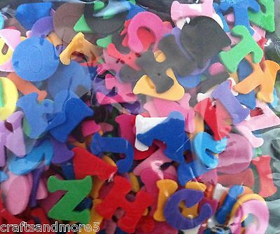 Foam Letters / Alphabet ~ 2cm ~ Great For Decorating ~ 300 Pieces ~ New