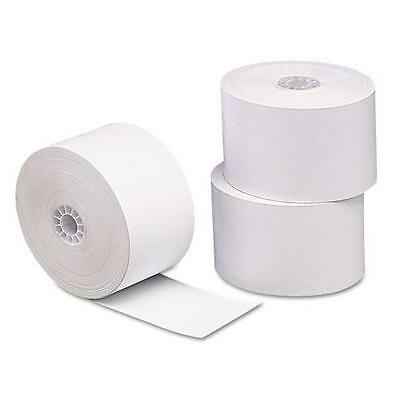 """PMC 18998 Single-Ply Thermal Cash Register/POS Rolls, 1-3/4"""" x 230 ft., White, 1"""
