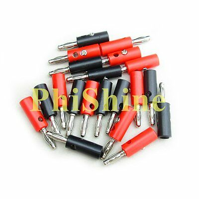 20PCS 4MM Banana Plug Lantern Plug Multimeter Test Plug 910 Wire Terminals