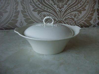 Empire Pottery Cream Ivory Serving Tureen & Lid