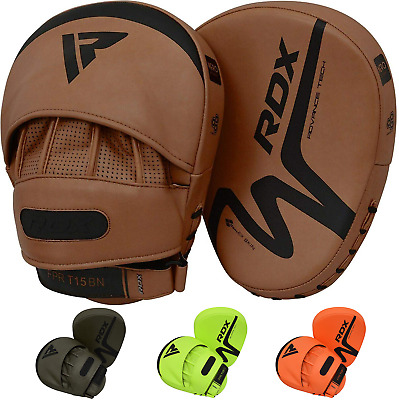 RDX Leather Boxing Gloves MMA Training Muay Thai Punching Bag KickBoxing UFC CA