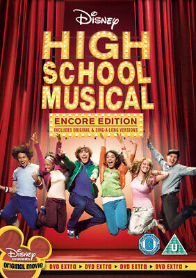 High School Musical: Encore Edition DVD (2006) Zac Efron, Ortega (DIR) cert U