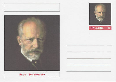 CINDERELLA - 4543 - Pyotr TCHAIKOVSKY  on Fantasy Postal Stationery card