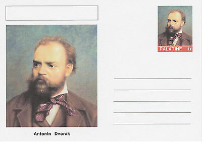 CINDERELLA - 4553 - Antonin DVORAK  on Fantasy Postal Stationery card