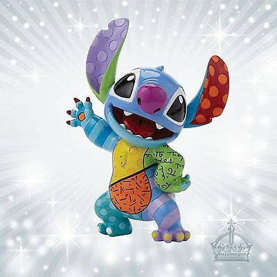 Stitch Ohana Lilo by Romero Britto Disney Sammelfigur Enesco Pop Art  4045146