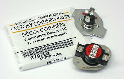 Whirlpool OEM 279769 Dryer Thermostat Thermal Fuse PS334278  AP3094224