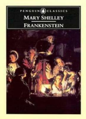 Frankenstein or the Modern Prometheus,Mary Shelley,Maurice Hindle
