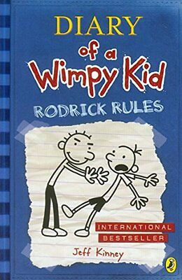 Diary of a Wimpy Kid: Rodrick Rules (Book 2),Jeff Kinney