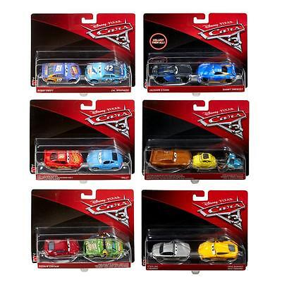 Disney Cars 3 Cast 1:55 - Selection Cars Vehicles Models Double Pack